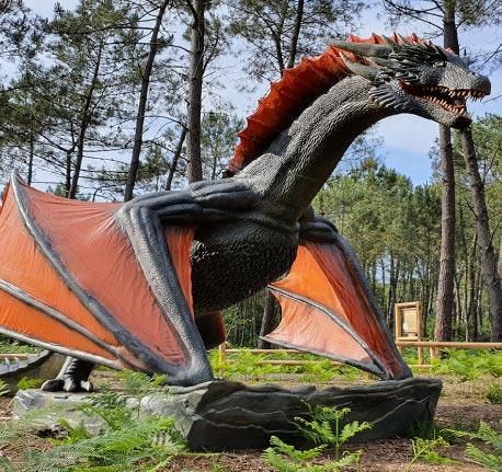 La forêt des Dragons
